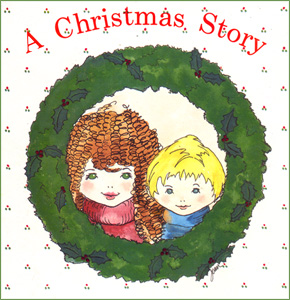 Fireflys Christmas Story Book Cover