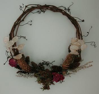 Fireflys Grapevine Wreath