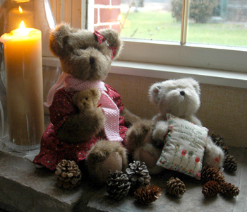 Fireflys Christmas Teddy