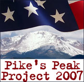 Pike's Peak Project 2007 Logo