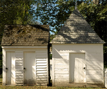 Sample of Outbuildings in Colonial Williamsburg