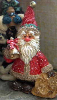 Another of Fireflys Santas from her Santa Collection