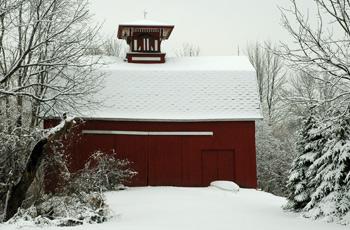 A beautiful old barn near fireflys farm in Western New York