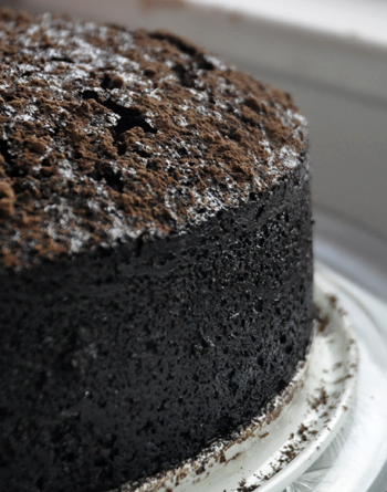 Chocolate Coffee Whiskey Cake