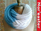 Easy and quick scrumptious inifinity cowl to knit
